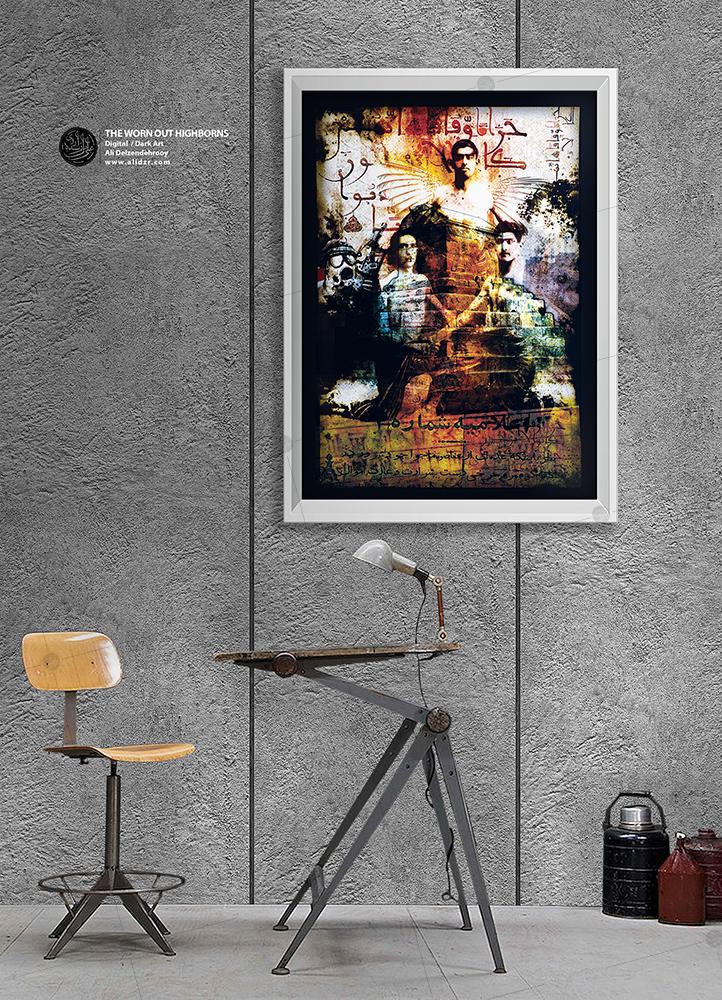 Digital Art,Photomanipulation,Dark art,Alidzr,Alidelzendehrooy,iran,art,poster,graphic